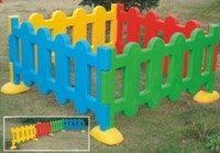 baby plastic colorful play fence outdoor garden fencing for children