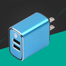 Newest design fast charging mobile phone portable charger 2 port usb wall charger
