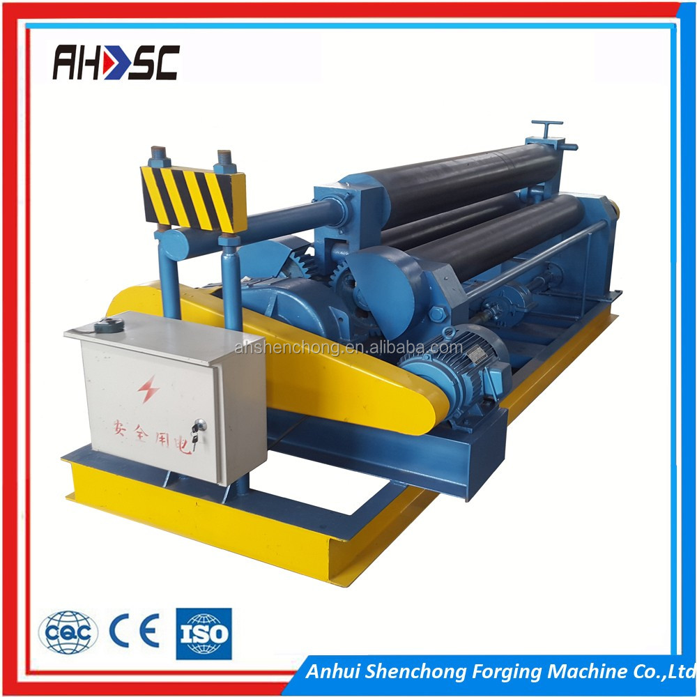 6mm steel plate rolling machine /roller bending machine/mechanical rolling machine