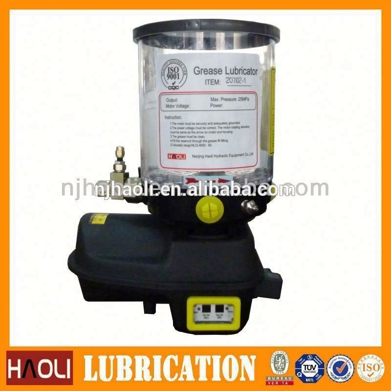 gearbox automatic lubrication pump