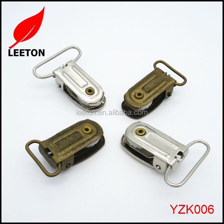 China supply cheap metal suspender hardware for kids suspenders