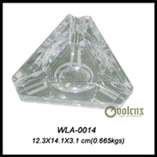 High quality low price wholesale custom Promotion crystal ashtray