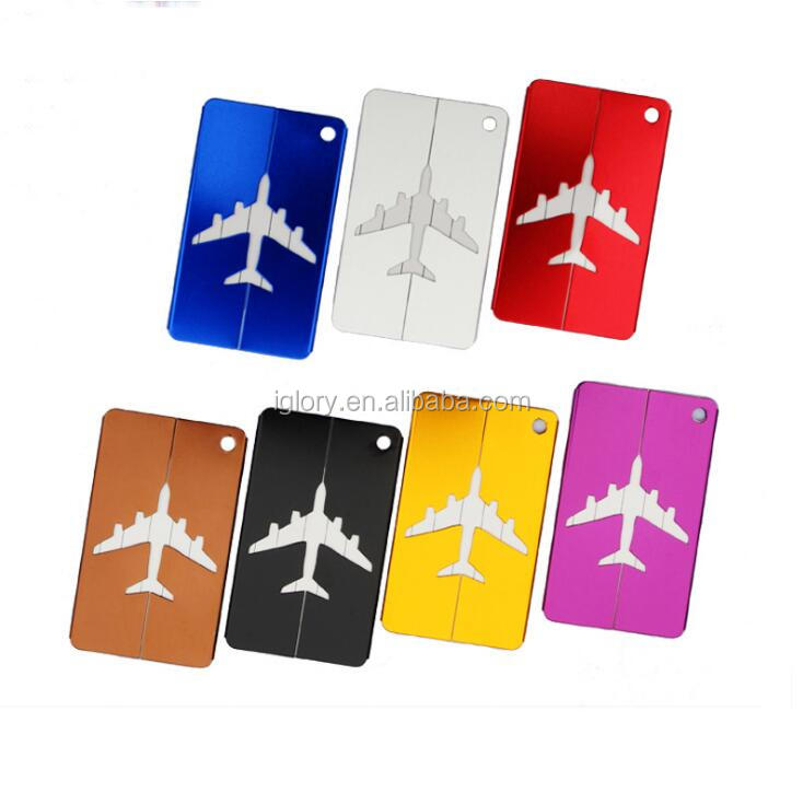 Aluminum alloy Travel Luggage Tags