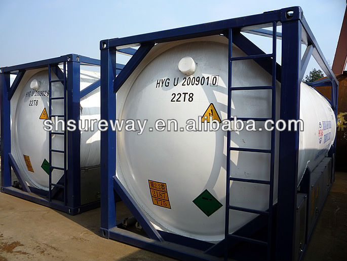 20feet Cryogenic Tank Container for Liquid Argon/Cryogenic Tank
