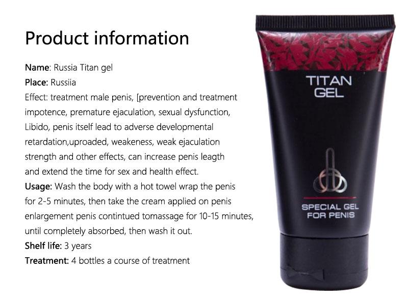 2pcs herbal big russian titan gel on ebid india 167346363