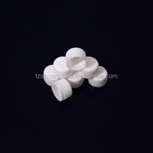 30/25mm three screw plastic water cap for spring water bottle