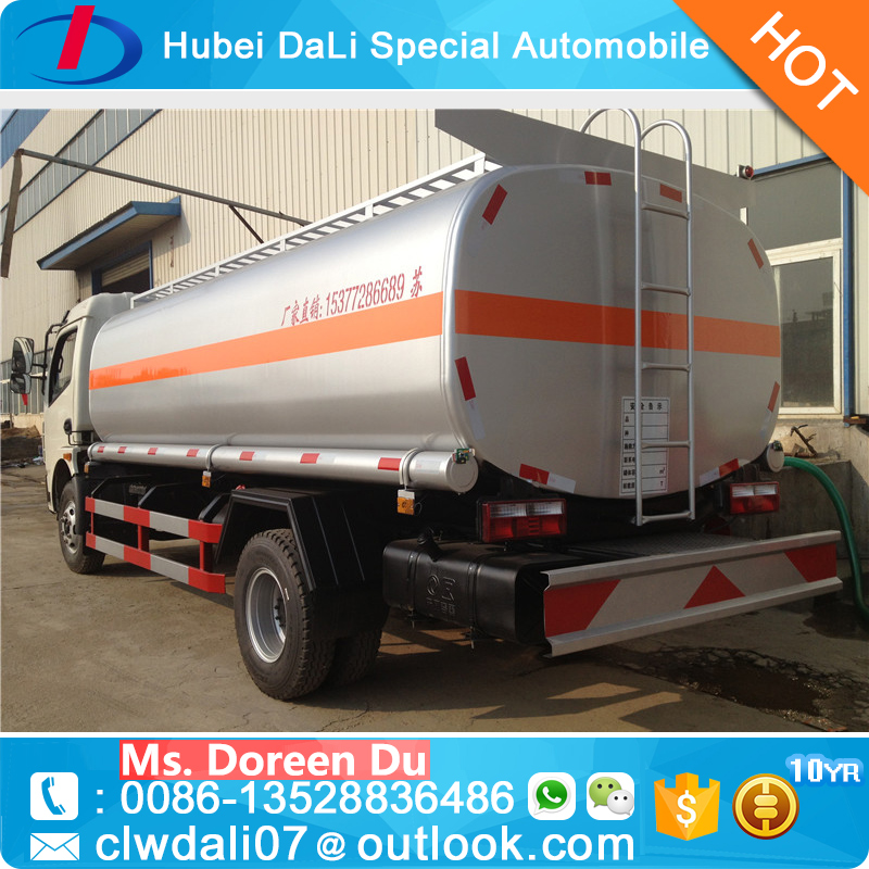 2016 Hot sale small Fuel Tank Truck 4X2 Oil Tanker