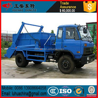 Swing Arm type 6Ton garbage truck price for sale