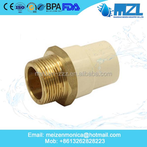Astm standard 2 inch cpvc pipes and cpvc fittings buy for Pvc vs cpvc vs pex