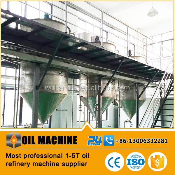 Oil Refinery/Oil Refining Machine/Palm Oil Refinery Plant
