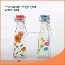 Top level new products glass milk bottle cork