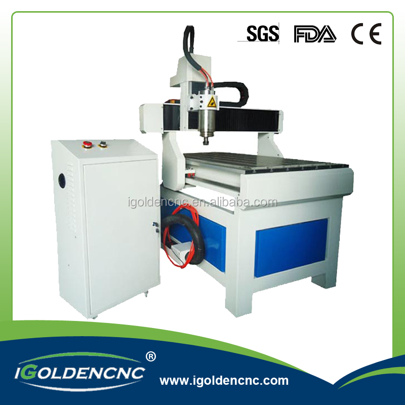 professional 6090 advertising cnc router for pcb/pvc/aluminum/wood