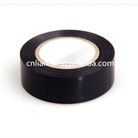 Water proof black pvc electrical insulation tape