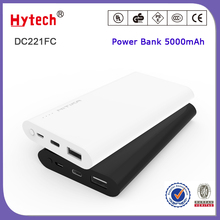 DC221FC Hot selling factory cheap price portable mobile battery power bank 5000mAh with TYPE C and USB output