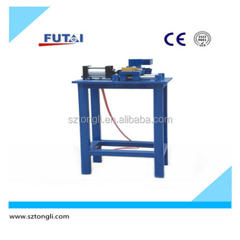TL-128 Manual tube or pipe drawing stamping machine for tubular heater