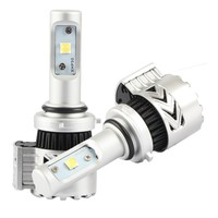 Nighteye cree xhp50 72W High Power Auto 8HL 9006 6500K Bulb 12000LM Bulb Car Led Headlight