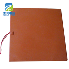 silicone resistant rubber heating mat for machinery