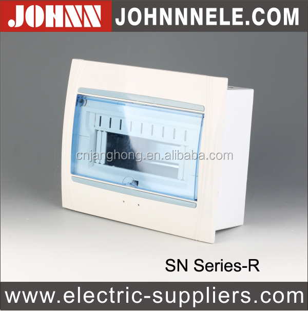 SN 4Ways Din Rail Plastic Circuit Breaker Box