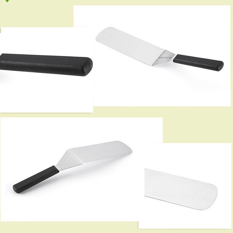China Products Factory Direct Kitchen-grade Utensils Series Nonstick Flat Shovel Stainless Steel Fried Fish Shovel Pizza Shovels
