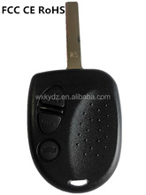 Replacement remote car key w/blade 3 Button for 2004 -2006 for Pontiac