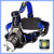2000LM XM-L T6 LED Rechargeable Zoomable Torch Headlamp With 2X 18650 Battery Head Light Torch Flashlight