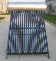 Integrated Pressure Solar water heater/Galvanized steel outer tank.