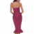 2017 New Women Sexy Khaki Wine Red Off Shoulder Party Bodycon Bandage Dress
