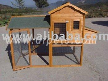 Rabbit house chicken coop hen house poultry coop chicken for Gazebo chicken coop