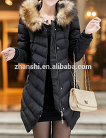 top fashion 2015 luxurious wool overall women down coat latest coat designs for women coat model