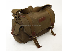 F1001 Green Newest Fashionable For Canon Nikon Canvas Camera Bag Casual Shoulder DSLR Camera Bag