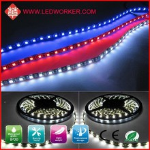 technology and high science DC12v smd 3528 30leds/m christmas profile led strip light plastic cover outdoor use 8mm 5M IP68
