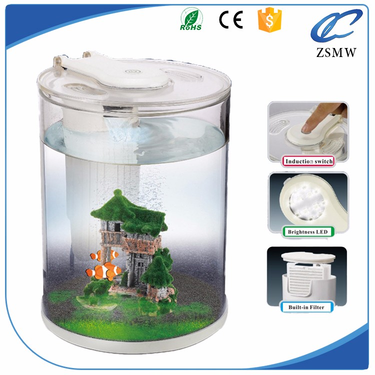 List manufacturers of aquarium cylinder round fish tank for Cylindrical fish tank