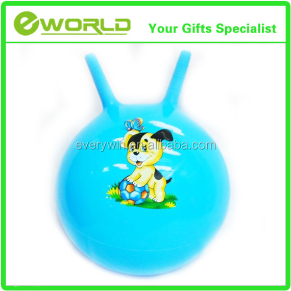 Promotional custom Unicorn plush hopper ball