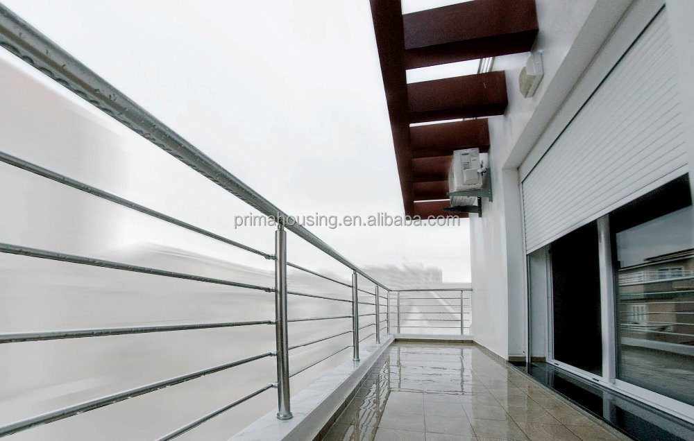 Cast iron/ stainless steel metal balcony railing design