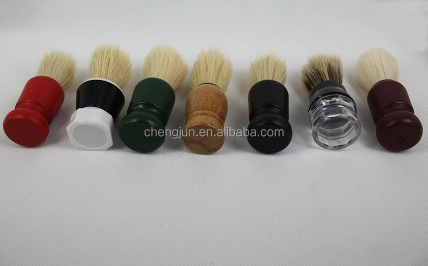 good price plastic handle shaving brush