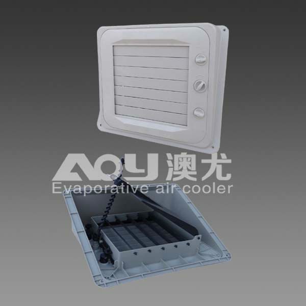 evaporative cooler air grille