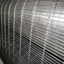 decorative crimped metal wire mesh fence