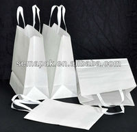 high quality customized brown white kraft paper bag china supplier ,hot sale