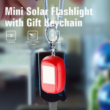 Solar Mini Hot Sale Flashlight LED Promotional Electronic Gift Toy Torch LED Light