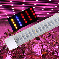 greenhouse grow light bar T8 T5 eshine systems plant factory hydroponic led grow tube for vegetables / medical plants