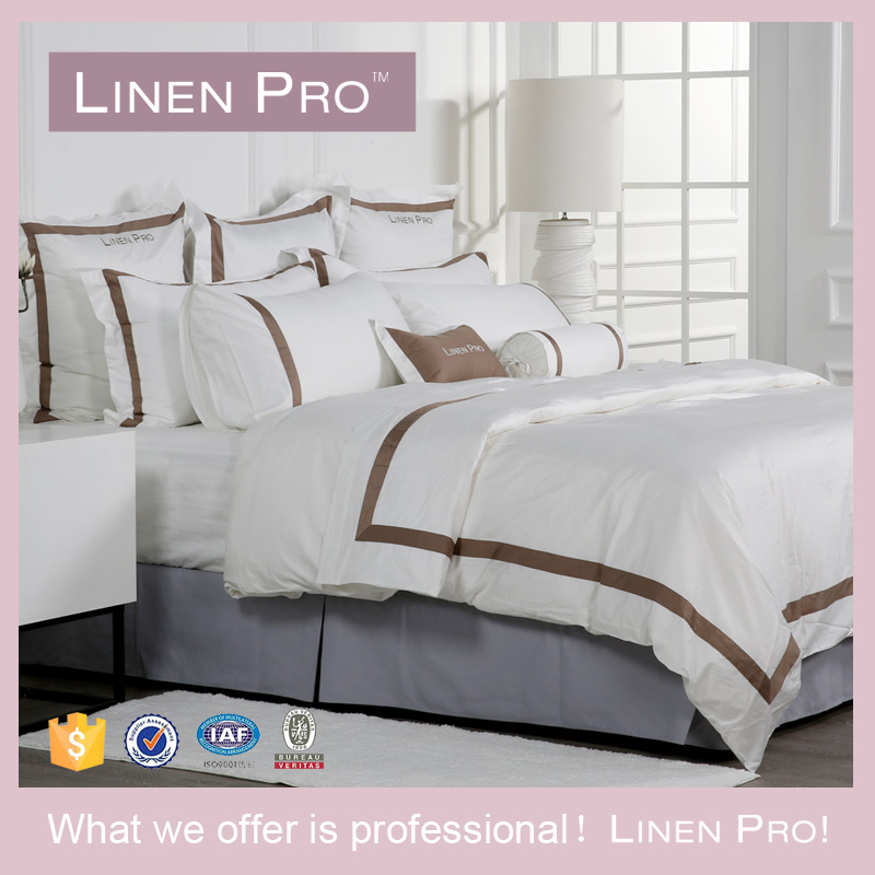 Linen Pro 5 Star Hotel Bed Sheet of Hotel Bed Linen