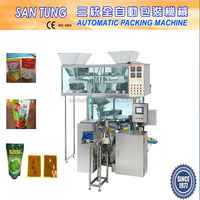 Automatic meat balls weighing packing machine