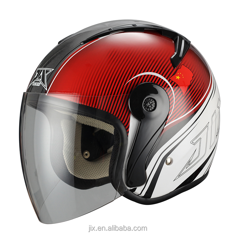 2015new style zhejiang JIX open face JX-B7008 helmet ,safty helmets with new decals