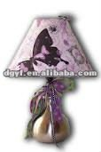 fabric lampshade,jigsaw lamp,table lampshade