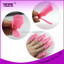 Pink Manicure Pedicure Nail Art Products Polish Soak Off Remover For Nail Tools