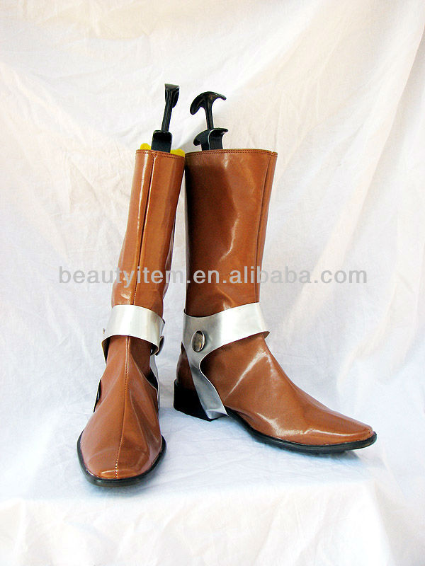 Maoh shoes from Chrono Trigger.Cosplay boots
