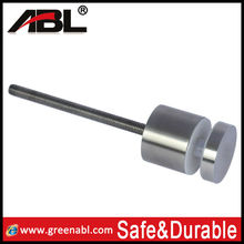 Glass hardware/glass table top hardware