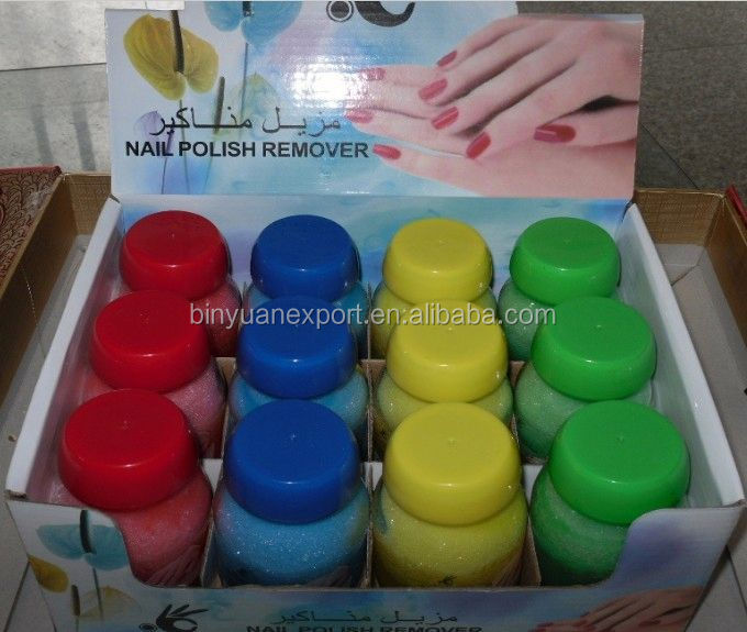 BIN Acetone nail polish remover nail polish remover pump dispenser bottle