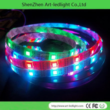 full color 20strip/string 4pcs smd5050 rgb smart waterproofing ws2801 strip module + T-1000B sd card dmx strip controller