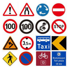 Customized professional speed limit solar traffic sign